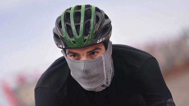 Biker with Mask